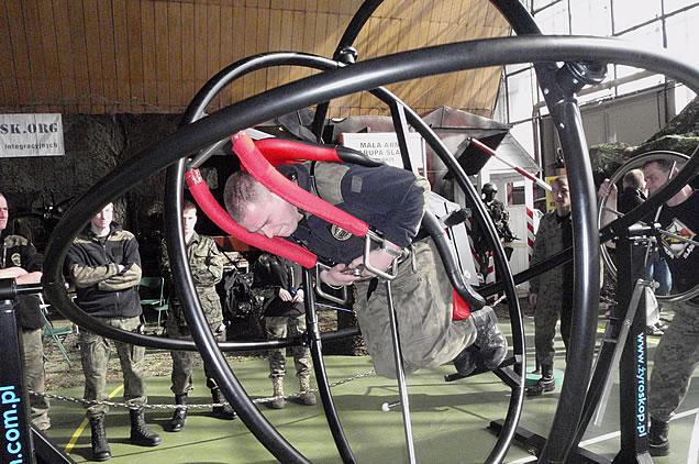 military gyroscope trainer AD-LIBITUM 1